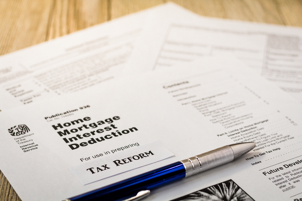 mortgage interest deduction and new tax law